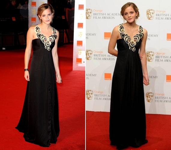 A színésznő már 2009-ben is stílusos volt: csodaszép feketeTemperley London ruhában lejtett végig a vörös szőnyegen.