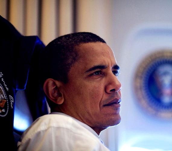 2009 novembere, Obama Kínába látogat. Itt már majdnem eltelt egy év az elnökségből, ősz hajszálat viszont alig látni.
