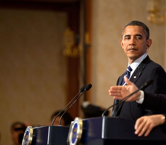 Obama 2010 novemberében, a második év vége felé.