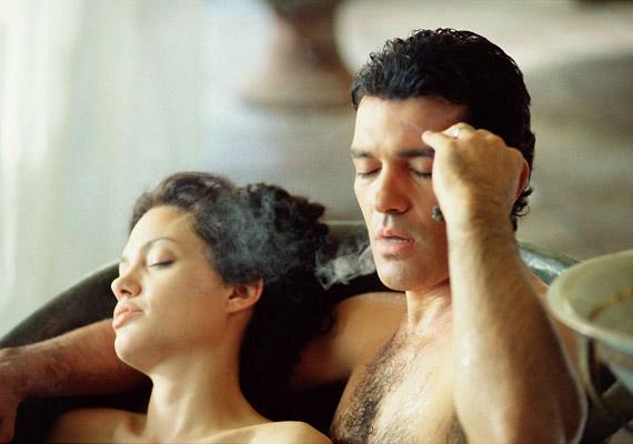 A 2001-es Eredendő bűnben a főszereplő, Antonio Banderas levelezés útján szerez magának feleséget. Angelina Jolie érzéki szépsége azonban erősen meglepi.
