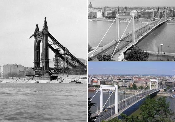 Így lett az egyetlen álló hídfőből újra a főváros ma is egyik leggyönyörűbb hídja.