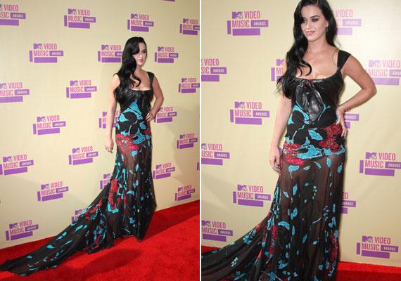 Katy Perry stílusához remekül passzolt az Elie Saab ruha.