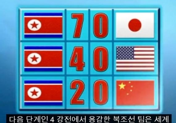 A 2014-es foci VB idején egy mosolygós riporter közölte a nézőkkel, hogy Észak-Korea mindenkit megvert, Japánt például 7:0-ra, Amerikát 4:0-ra, Kínát pedig 2:0-ra, a végső döntőt pedig Portugáliával játsszák. Valójában az észak-koreai válogatott 2014-ben nem is jutott ki a világbajnokságra.