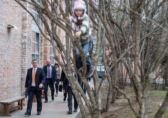 A miniszterelnök, Orbán Viktor most vasárnap, február 16-án tartotta évértékelő beszédét a Millenáris Parkban. Az eseményre mi mást vett volna fel, mint narancssárga nyakkendőt.