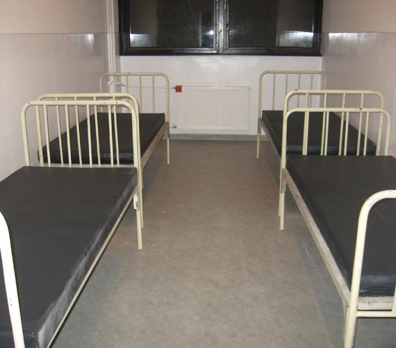 Négyágyas szobák vannak.
