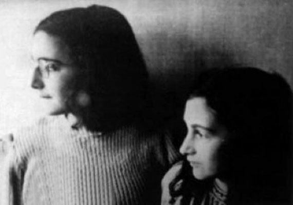 A kis Anne Frankról és nővéréről, Margot-ról 1942 elején készült az utolsó felvétel.