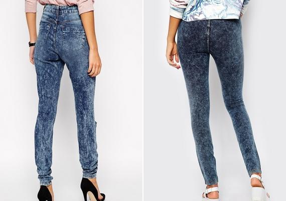 A lapos popsival rendelkezőknek azok a nadrágok állnak jól, amelyeken a farzseb magasan helyezkedik el, illetve hiányzik.