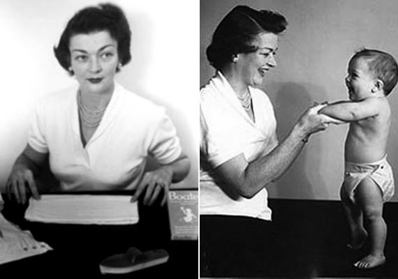 Sok piszkos munkától szabadította meg az anyákat Marion Donovan, akinek fejéből kipattant az eldobható pelenka ötlete. Mivel egy cég sem látott benne fantáziát, saját vállalkozást alapított, és meggazdagodott a találmányból. Most már érdmes visszatérni a moshatóhoz, mert a pelenkagyártás nagyon környezetszennyező.