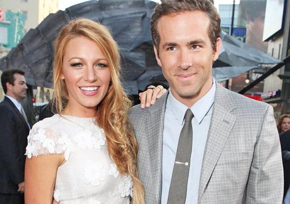 A Pletykafészek sztárja, Blake Lively 25 évesen lett Mrs. Ryan Reynolds. A pár 2011-ben jött össze, amikor közös filmjüket, a Zöld lámpást forgatták.