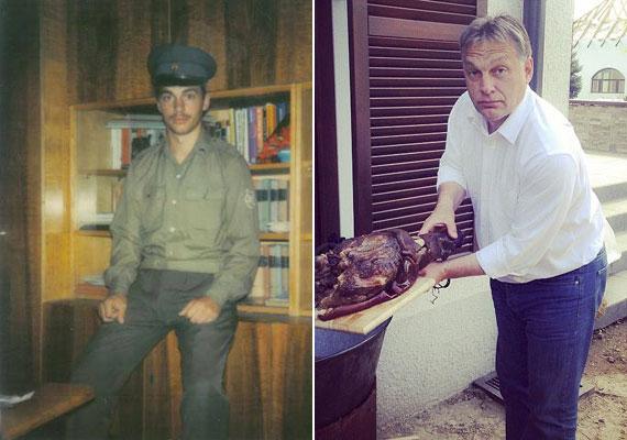 Orbán Viktor szintén a Fidesz alapítói közt volt, ám képviselői karrierje előtt még egy kis ideig Oxfordban is tanult, ahol az angol liberális filozófia történetét hallgatta. 1990-ben azonban megszakította tanulmányait, hogy ő is indulhasson az első szabad választásokon. A kép a hadseregben eltöltött idő alatt készült az ifjú Orbánról. Elmondása szerint ez volt az az időszak, amikor megváltozott közéleti látásmódja. Előtte, a gimnázium alatt ugyanis a Kommunista Ifjúsági Szövetség titkáraként működött.
