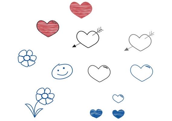 Ha vidám, cuki kis figurák sorakoznak a lapon, például szívecskék, virágok, mosolygó arcok, nap, felhő, csillagok, pozitív személyiség vagy, gyermeki lélekkel. Saját magadhoz való viszonyod harmonikus és békés, de a téged körülvevő világot és az emberek cselekedeteit sokszor nem tudod hová tenni.