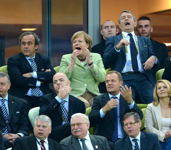 A németek négy gólt rúgtak.