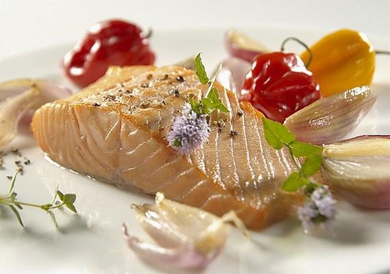 A hal is hasonló, mint a tojás: laktató, egészséges, és kevesebb kalória van benne, mint a húsokban.