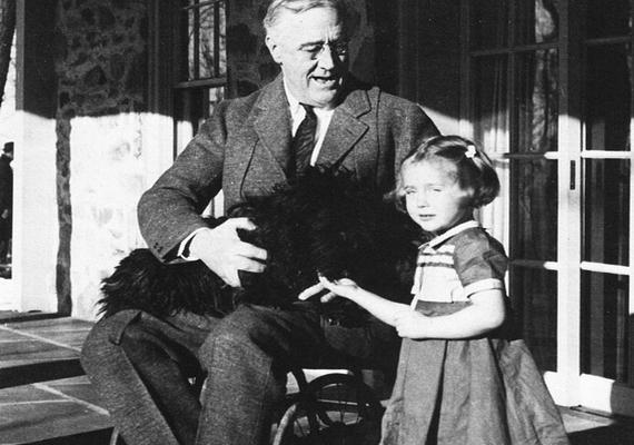 1933 és 1945 között volt az Amerikai Egyesült Államok elnökeFranklin Delano Roosevelt. A 20. század egyik legnagyobb politikusának tartott férfi1921-ben gyermekbénulás következtében deréktól lefelé lebénult, de sosem mutatkozott kerekesszékben a nyilvánosság előtt.