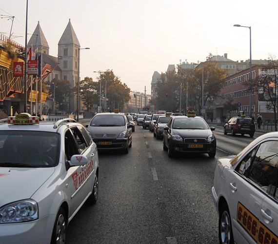 A taxik délután egy órakor a X. kerületi Albertirsai úton gyülekeztek, majd a Nyugati pályaudvar mellett elhaladva a Hősök terén oszlottak szét.