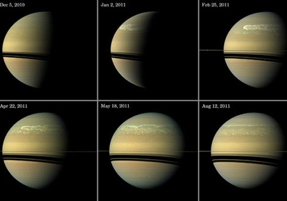 A vihar krónikája a NASA felvételeivel illusztrálva.