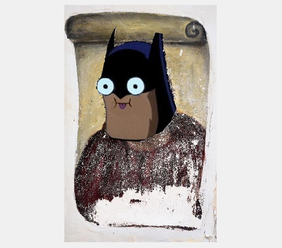 Batman-freskó.