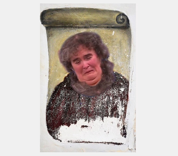 Susan Boyle.