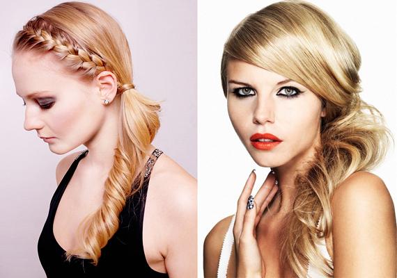 Oldalt, a füled alatt fogd össze a hajadat. Ez már önmagában is egészen új formát ad az arcodnak, de megspékelheted hullámokkal vagy egy fonattal is.