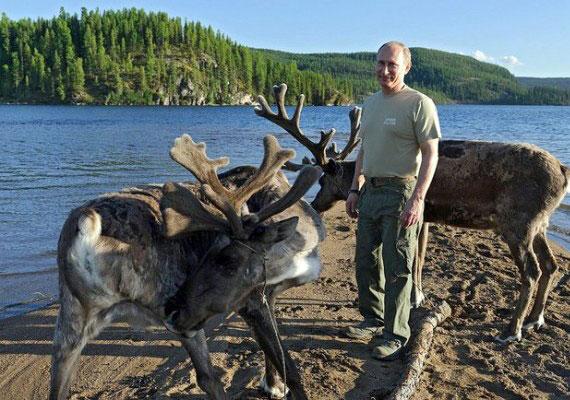 Vlagyimir Putyin 16 év után először vett ki szabadságot születésnapján, és elutazott a szibériai tajgába, adta hírül az MTI október 7-én. Az orosz elnök valamiért gyermekien vonzódik a vadonhoz. Félmeztelen vadászat, lovaglás, szibériai tigris szabadon engedése - ezek mind-mind szerepelnek az államfő szabadidős repertoárjában.