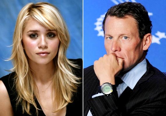 Ashley Olsen mindössze 20 éves volt, amikor hét évvel ezelőtt randizott a nála 15 évvel idősebb Lance Armstronggal.