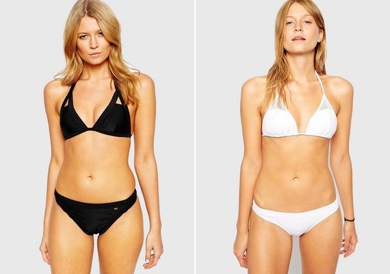 A férfiak egyértelműen a klasszikus, teljesen egyszerű bikinit találták a legszexisebbnek: a válaszadók 93%-a úgy gondolja, a normál bugyifazon és a nem túl kihívó felsőrész a befutó.