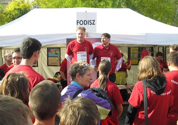 Zugló polgármestere, Papcsák ferenc is ott volt a FODISZ rendezvényén.