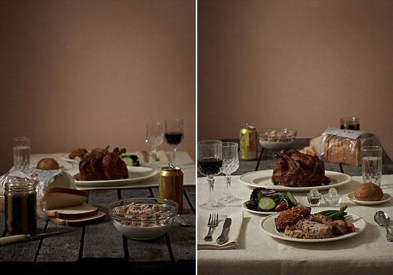 Az Egyesült Államokban nem a mennyiséggel akadnak gondjai a leszakadó rétegeknek, hanem a minőséggel. Az amerikai társadalom hatodrésze él a szegénységi küszöb alatt, nekik pedig csak a kevésbé tápláló ételek jutnak.