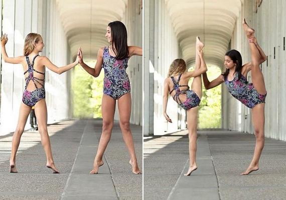 A barátnőit is a táncosok világából választja, és szinte csak idősebbekkel ismerkedik.