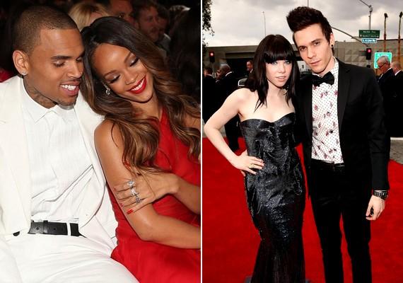 Rihanna régi-új szerelmével, Chris Brownnal élvezte az estét, Carly Rae Jepsen és barátja, Matthew Koma pedig most mutatkoztak először együtt a vörös szőnyegen.