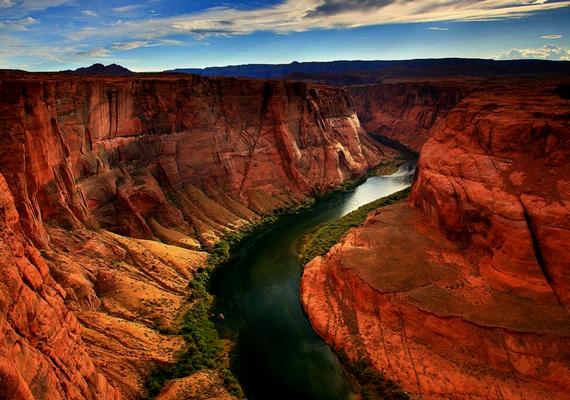 Így néz ki a Grand Canyon Nemzeti Park hétköznapi formájában.