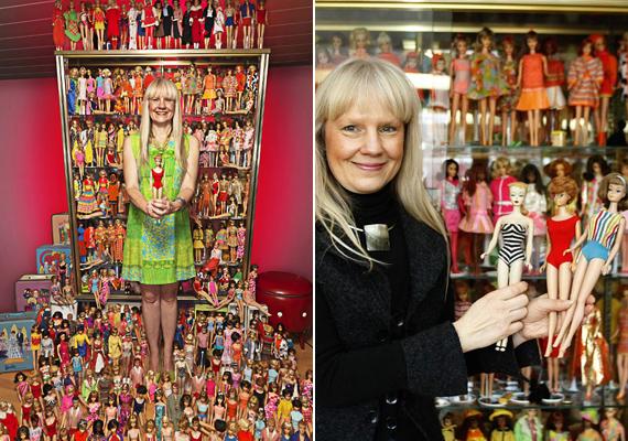 Bettina Dorfmann 15 ezer különböző Barbie baba tulajdonosa, ezzel ő a világ legnagyobb Barbie-gyűjteményének birtokosa.