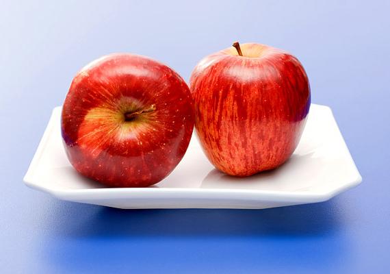 Az almában a legtöbb vitamin megtalálható, amire a hajnak szüksége van, ezért minden nap fogyassz el legalább egy szemet!