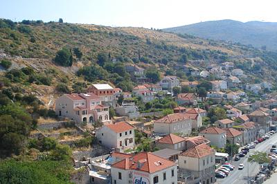 Dubrovnik kikötője a Poesia 14. emeletéről