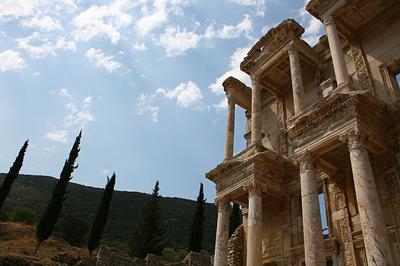 A Celsus-könyvtár Ephesosban