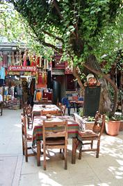 Kávézó Isztambulban