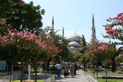 A Kék-mecset Isztambulban