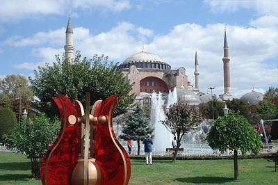 Az Aja Szófia Isztambulban