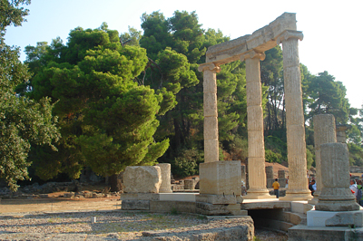 Nagy Sándor édesapja által emelt templom romja