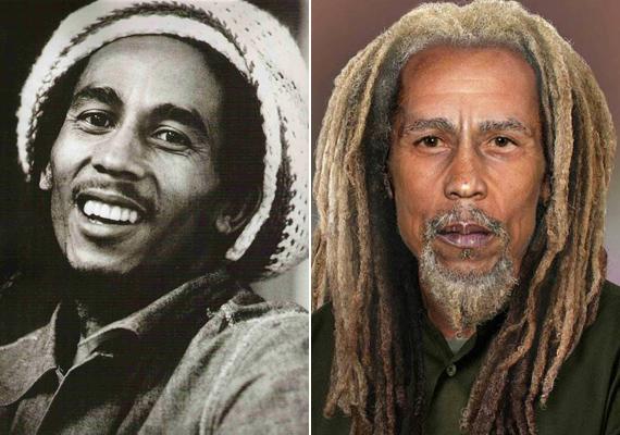 Bob Marley a védjegyévé vált raszta frizurától 69 évesen sem szabadulna meg.