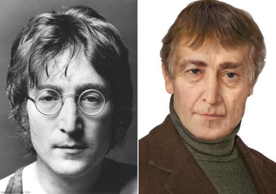John Lennon ugyanúgy nézne ki napjainkban, mint 40 éves korában. Csupán a haja ritkult volna meg.