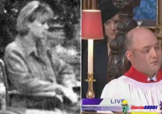 Bejárta az internetet a fotó, amelyen állítólag Diana hercegnő szerepel évekkel a halála után egy kerekesszékben. Nem derült ki, hogy ki a képen látható nő, de ha jobban megnézzük, csak a frizurája hasonlít Lady Di hajára. Vilmos és Katalin esküvője után a pap mögött álló nőről is sokan bizonygatták, hogy Diana az, de ennek sincs alapja, ráadásul a szóban forgó hölgy jóval fiatalabbnak tűnik az elhunyt hercegnőnél.
