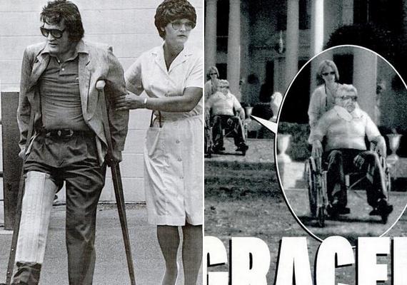 Több fotó is készült Elvis Presley-ről a halála után - legalábbis vannak, akik ezt állítják. Egy internetes magazin lehozott egy ritkán látott fotót az énekesről, amin törött lábbal látható, és egyet, amelyen gracelandi háza előtt ül tolószékben, időskorában. Mindkét kép hamisítvány, a jobb oldalin ezt nem is lehet nem észrevenni.