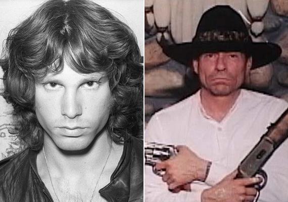 Jim Morrison életben van, és egy oregoni farmon él - állítja több kétes hírű amerikai weboldal is. Még egy képet is közöltek róla, és bár valóban van némi hasonlóság a fotón látható férfi és a zenész között, azért összetéveszteni nem lehet őket.