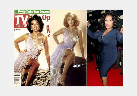 Oprah Winfrey nem saját testével szerepelt a TV Guide magazin címlapján: a virtuális donorAnn-Margret Olsson volt.