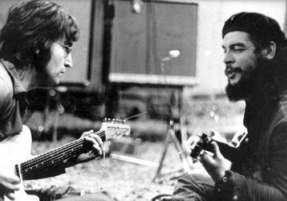 John Lennon és Che Guevara sohasem zenéltek együtt.