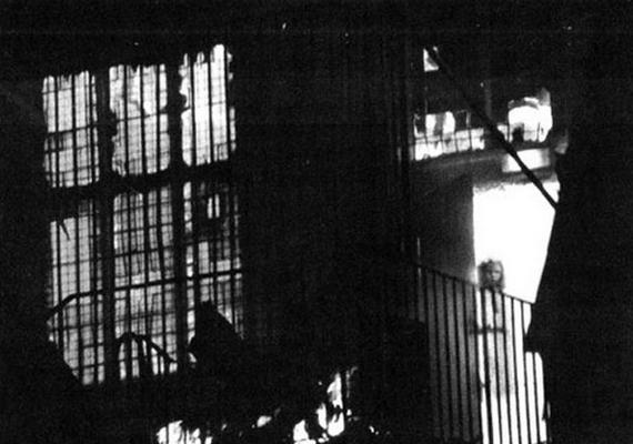 A kép egy 1995-ös tűzeset során készült, de az eredeti felvételen nincs semmilyen szellem: a kislányt valószínűleg egy képeslapról applikálták a fotóra.