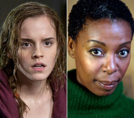 Nagy meglepetést okozott J. K. Rowling, amikor kiderült, hogy egy fekete színésznőt választott Hermione Granger szerepére. A 47 éves Noma Dumezweni főleg mellékszerepekben és rövidfilmekben volt látható.