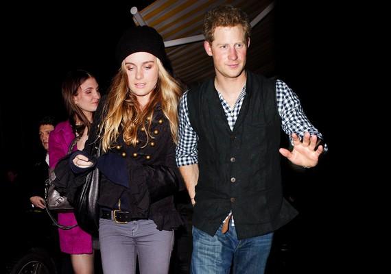 A hírek szerint Harry és Cressida Bones nagyon boldogok együtt, még az is lehet, hogy ő lesz a herceg felesége.