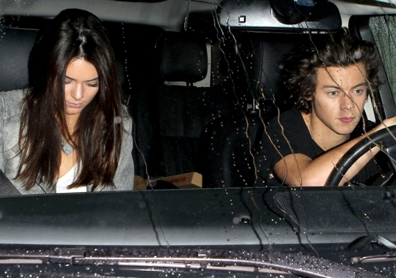 Harry és Kendall Hollywoodban vacsoráztak a minap.